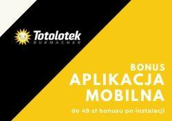Bonus Totolotek z aplikacją mobilną