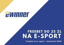 eWinner - bonus na e-sport